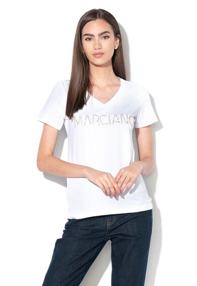 GUESS BY MARCIANO Тениска с декоративни камъни Жени