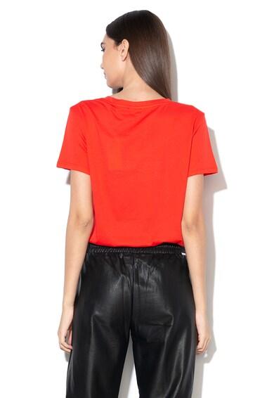 GUESS JEANS Тениска с модал и синтетични перли Жени