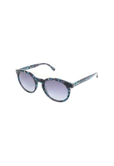 Lacoste Унисекс овални слънчеви очила с мраморен ефект Жени