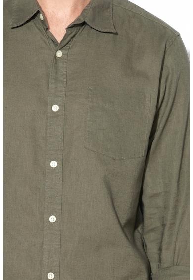 GAP Риза с лен и памук Мъже