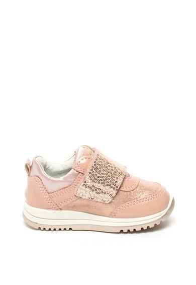 Primigi Pantofi sport cu velcro si insertii de piele intoarsa Fete