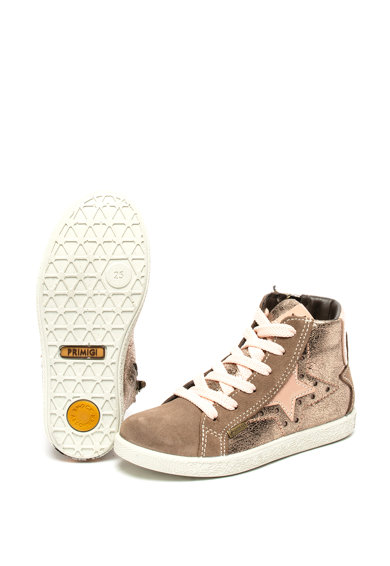 Primigi Велурени обувки със звезди Момичета
