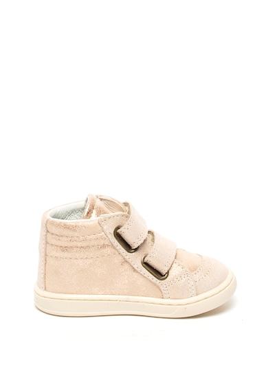 Primigi Pantofi sport de piele ecologica, cu aspect lacuit Fete