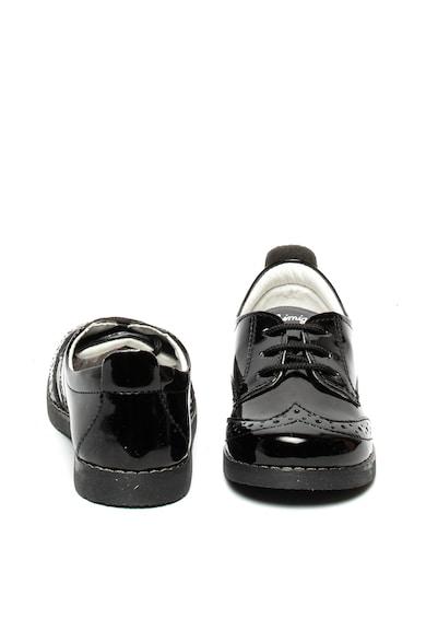 Primigi Pantofi de piele ecologica, cu aspect lacuit Fete