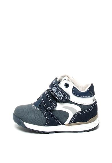 Primigi Pantofi de piele intoarsa si piele ecologica, cu velcro Baieti