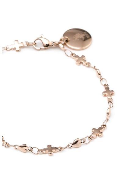 U.S. Polo Assn. Bratara cu talisman circular Femei