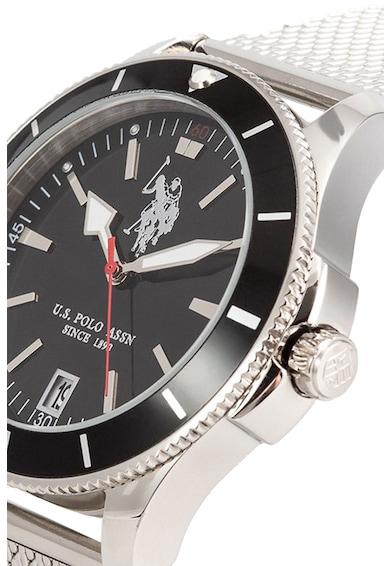 U.S. Polo Assn. Кварцов часовник с верижка от инокс Мъже