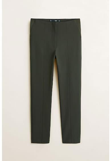 Mango Pantaloni cu insertii elastice Avanti Femei