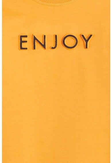Mango Bluza sport cu imprimeu text in relief Anymore Baieti