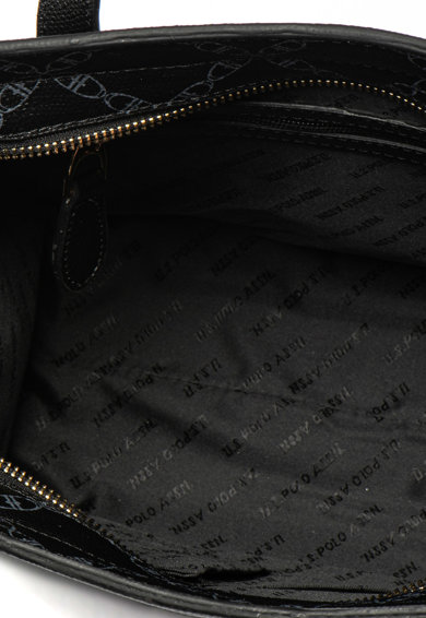 U.S. Polo Assn. Geanta tote de piele ecologica cu accesoriu logo Femei
