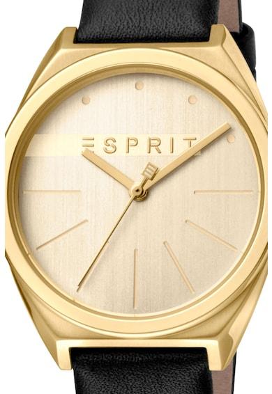 Esprit Часовник с кожена каишка Жени
