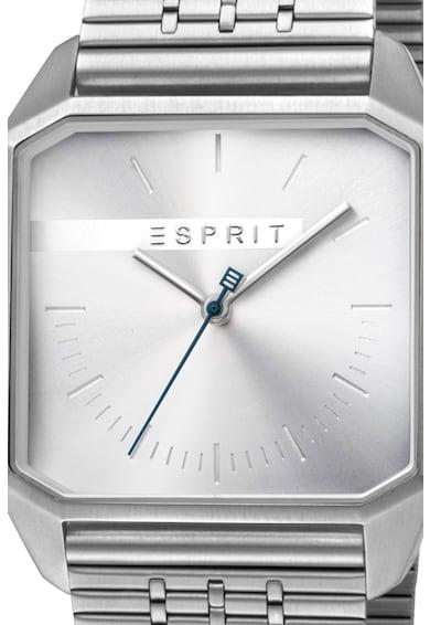 Esprit Аналогов часовник с метална верижка Мъже