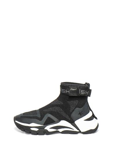 ASH Pantofi sport slip-on cu model tip soseta Fire Femei