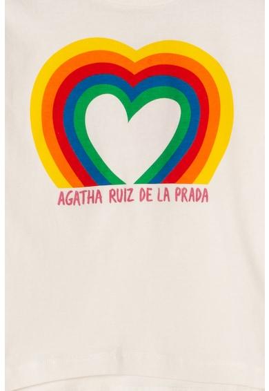 Agatha Ruiz de la Prada Bluza cu imprimeu grafic Dreamland Fete