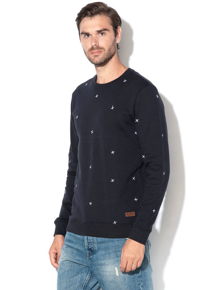 Only & sons Bluza sport din bumbac cu model brodat Kyon Barbati