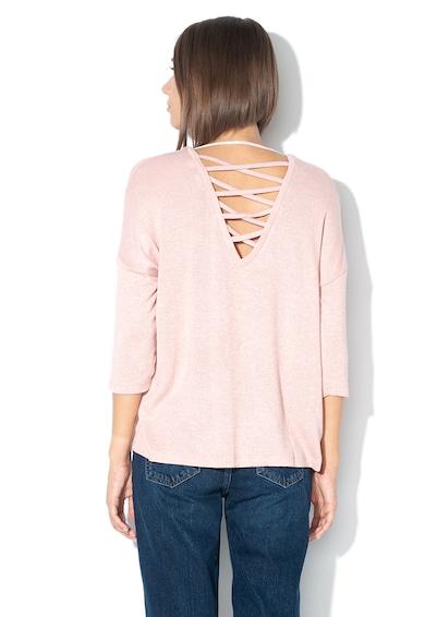 Vero Moda Pulover din tricot fin cu snururi incrucisate pe partea din spate Brianna Femei