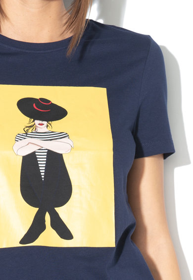 Only Tricou regular fit cu imprimeu grafic Zabi Femei