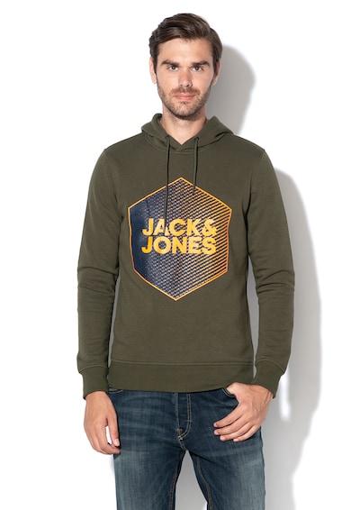 Jack&Jones Hanorac regular fit cu imprimeu logo Booster Barbati
