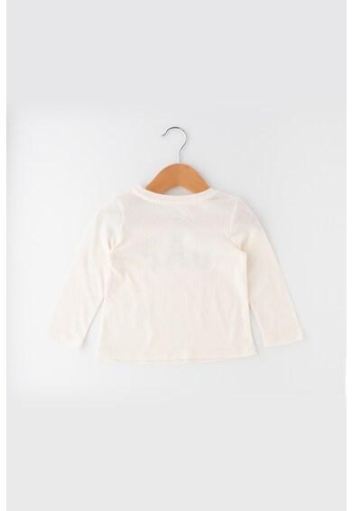 GAP Bluza cu aplicatie stralucitoare cu logo Fete