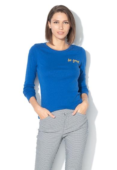 GAP Bluza din amestec de modal, cu text brodat Femei