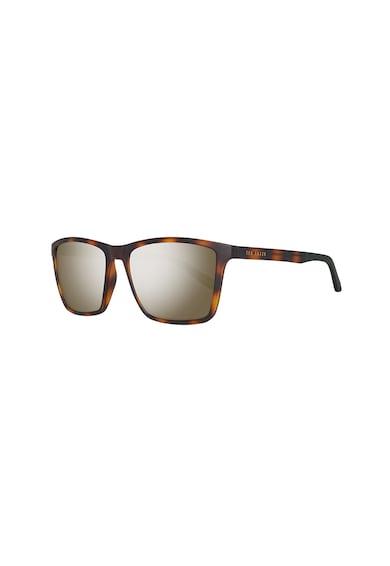 Ted Baker Квадратни слънчеви очила с животинска шарка Мъже