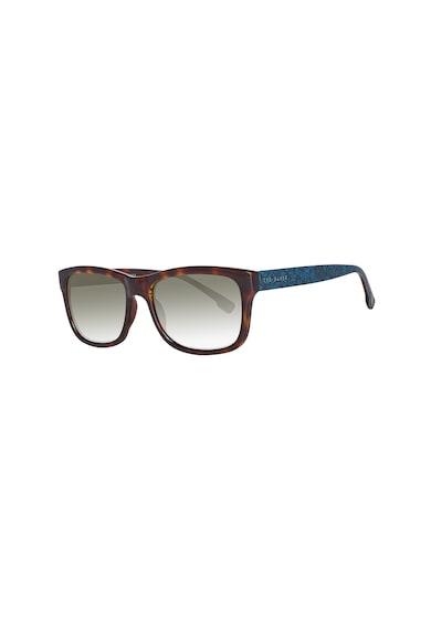 Ted Baker Квадратни слънчеви очила с контрастни рамене Мъже
