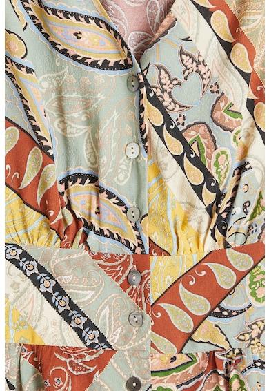 Mango Десенирана блуза Hula с бухнали ръкави Жени