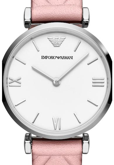 Emporio Armani Часовник с кожена каишка Жени