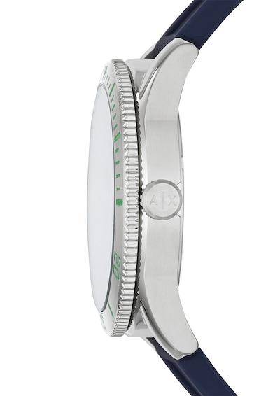 ARMANI EXCHANGE Овален часовник със силиконова каишка Мъже