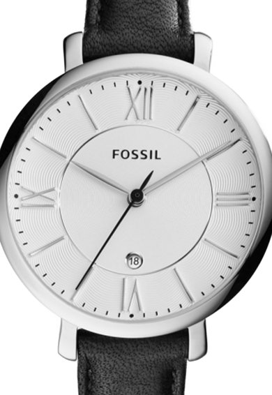 Fossil Ceas analog cu o curea de piele Femei