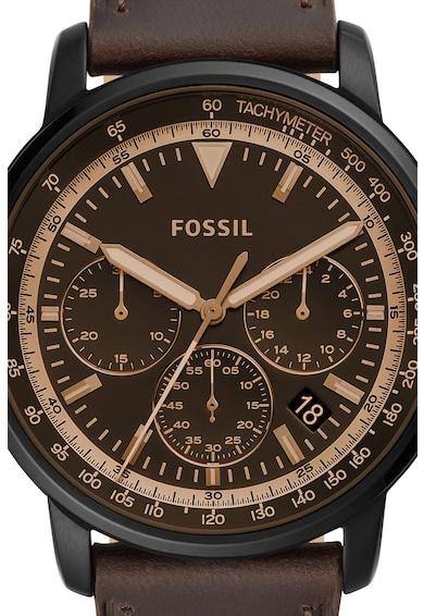 Fossil Часовник с кожена каишка Мъже