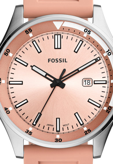Fossil Аналогов часовник със силиконова каишка Жени