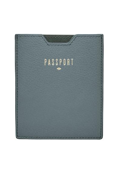 Fossil Suport de piele pentru pasaport, cu RFID Femei