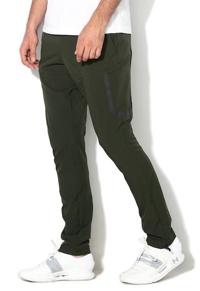Under Armour Pantaloni elastici cu snur in talie, pentru fitness Barbati