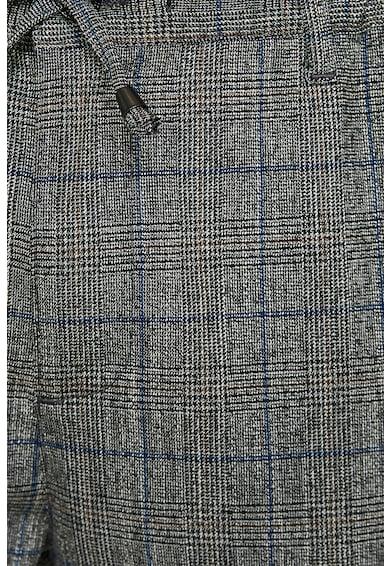 KOTON Pantaloni conici cu model in carouri Barbati