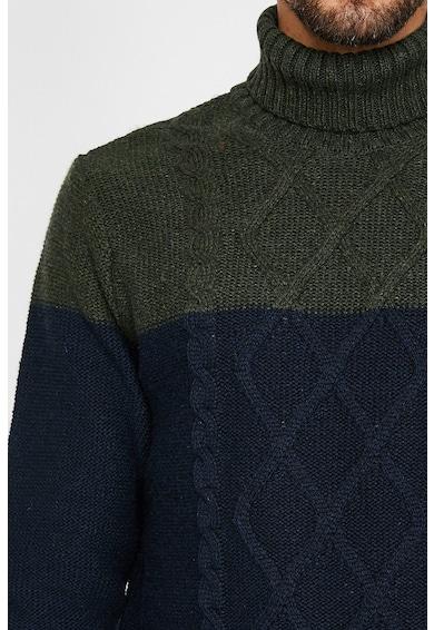 KOTON Pulover tricotat cu guler inalt Barbati