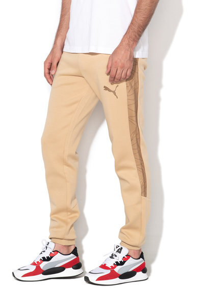 Puma Фитнес панталон Evo с мрежести детайли Мъже