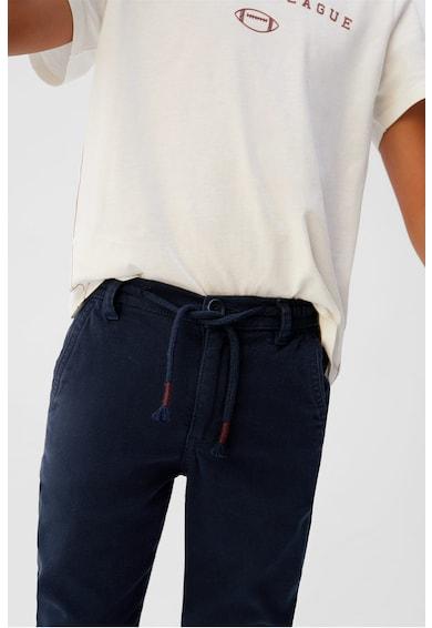 Mango Pantaloni jogger cu cordon Baieti