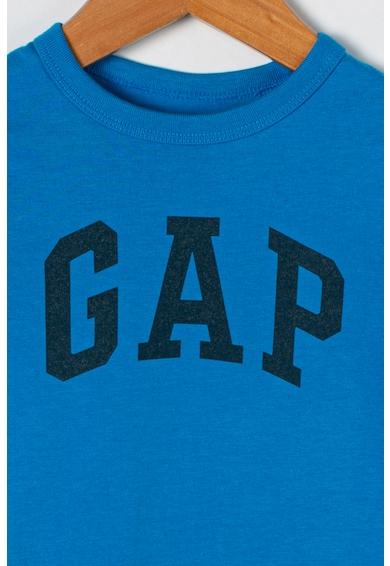 GAP Bluza cu decolteu la baza gatului si imprimeu logo Baieti