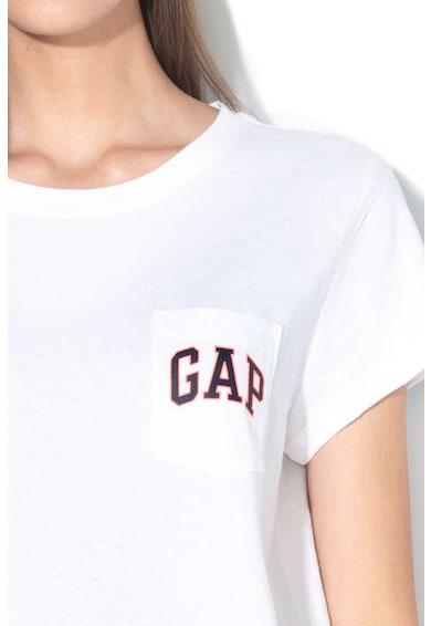 GAP Tricou cu buzunar aplicat Femei