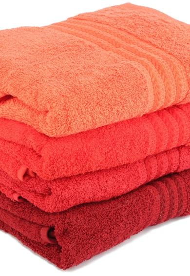Hobby Rainbow Red hímzett töröllközők, 4 darab, Piros, 100% pamut, 70 x 140 cm női