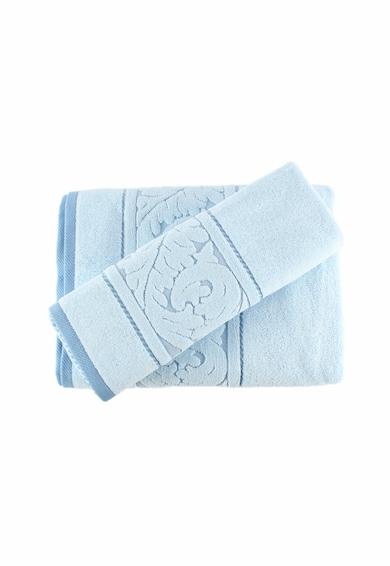 Hobby Sultan Blue hímzett törölközőszett, 2 darabos, 50 x 90 cm, 70 x 140 cm, 100% pamut női