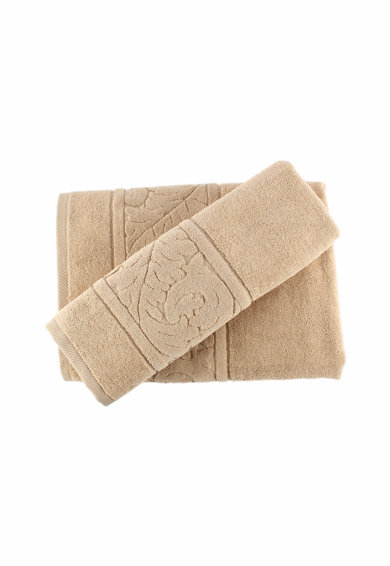 Hobby Комплект 2 бродирани кърпи  Sultan Bej, 50x90 cм, 70x140 cн, 100% памук Жени