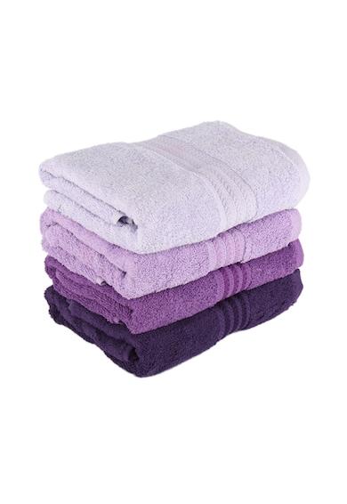Hobby Комплект кърпи  Rainbow Lilac, 4 бр, 100% памук, 50х90 см Жени