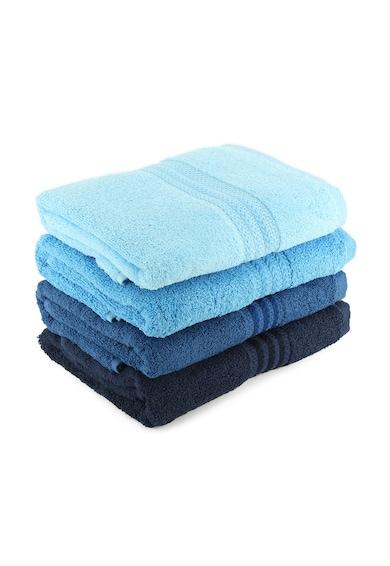 Hobby Rainbow Blue törölköző készlet, 4 db, 100% pamut, 50x90 cm női