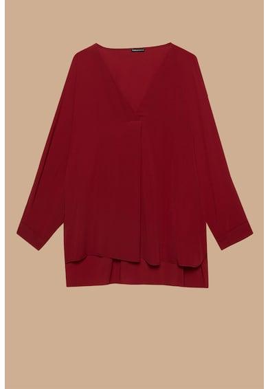 Fiorella Rubino Блуза с шпиц деколте и дълги ръкави Жени