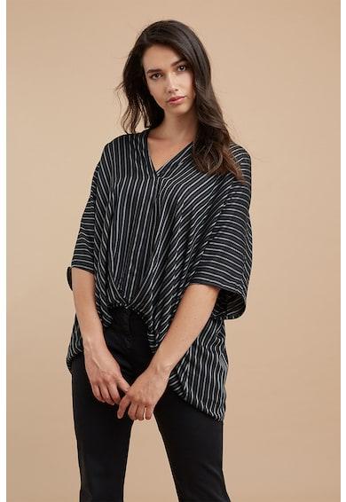 Fiorella Rubino Раирана блуза със среднодълги ръкави Жени