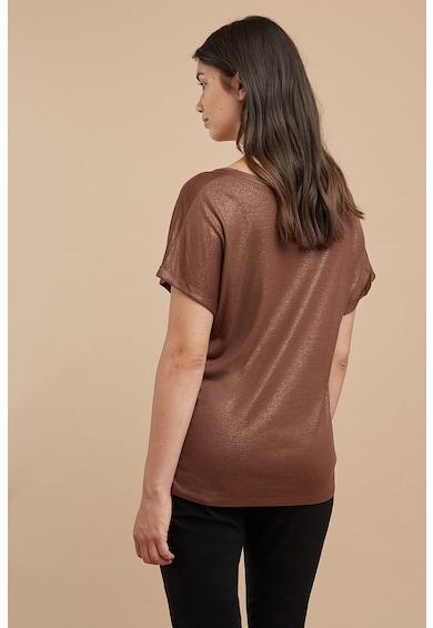 Fiorella Rubino Tricou cu aspect stralucitor Femei