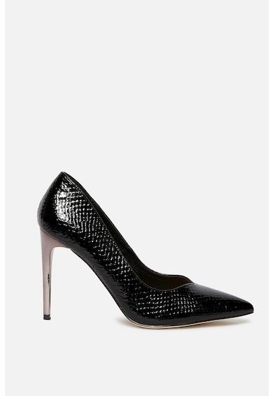 Motivi Pantofi stiletto cu varf ascutit si model piele de reptila Femei