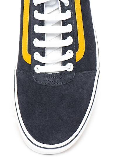 Vans Ward nyersbőr cipő kontrasztos részletekkel férfi